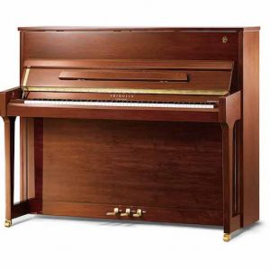 Walnut upright schimmel piano