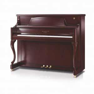 Schimmel Fridolin F121QA Queen Anne Curved Leg Upright Piano