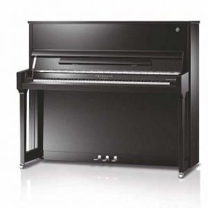 Upright Schimmel Fridolin Piano in Ebony high gloss