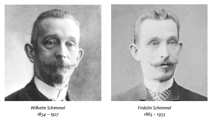 Photos of brothers Wilhelm and Fridolin Schimmel