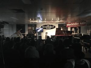 Schimmel Piano Concert at Bernie's Musicland
